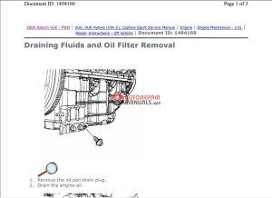 Chevrolet Captiva 20082010 Service Repair Manual – PDF Manual | Auto Repair Manual Forum