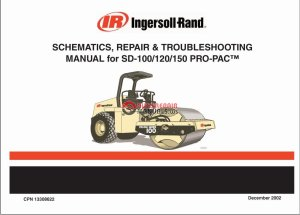 Ingersoll Rand SD100 Schematic, Repair & Troubleshooting