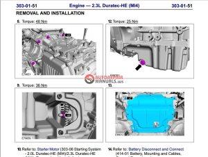Ford Mondeo 20082009 Workshop Manual   Auto Repair Manual Forum  Heavy Equipment Forums