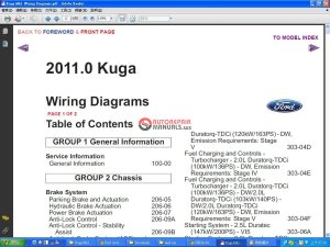 Ford Kuga 2011 MK1 Wiring Diagram | Auto Repair Manual Forum  Heavy Equipment Forums  Download