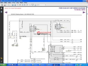 Ford Kuga 2011 MK1 Wiring Diagram | Auto Repair Manual