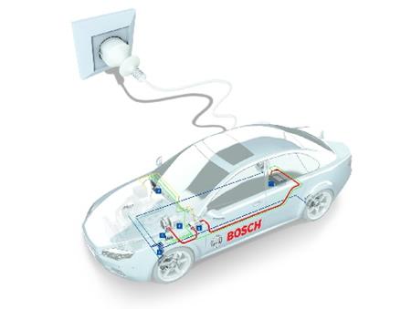 bosch-motori-ibridi-elettrici Bosch e PSA Peugeot Citroen insieme per le auto ibride