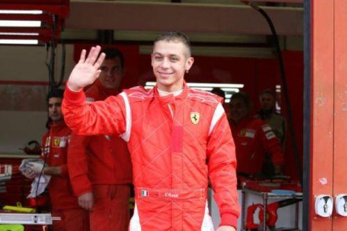 rossi-ferrari-noveembre-2008 Valentino Rossi al Mugello prova Ferrari F2008
