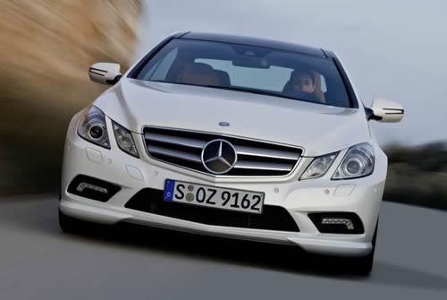 mercedes-classe-e-coupe-2009-anteriore I Motori Della Mercedes Classe E Coupè 2009