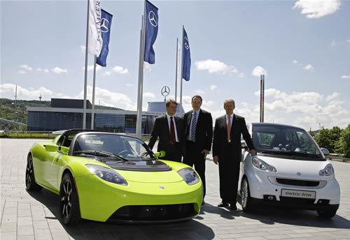 mercedes-acquisizione-tesla-diecipercento Il Gruppo Daimler AG acquisisce il 10 per cento di Tesla Motors Inc