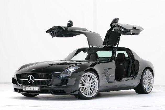 brabus_mercedes_sls_01 Mercedes SLS Brabus: finalmente la Gullwing elaborata