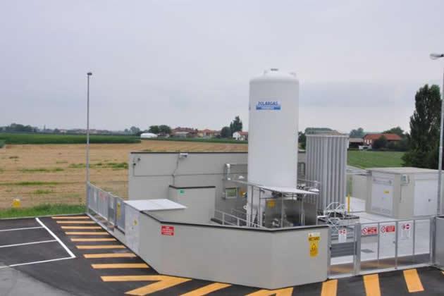 distributore_metano-_liquido Aperto il primo distributore da metano liquido