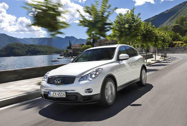 infiniti_ex30d_diesel_2010 Infiniti EX, SUV diesel che sfida le europee