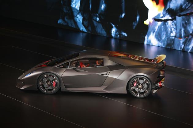 Lamborghini Sesto Elemento Concept Poco Peso E Tanta Potenza