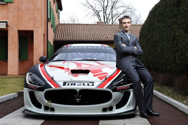 Maserati-GranTurismo-MC-Trofeo-e-Andrea-Bertolini Maserati Racing: dopo la conquista del titolo mondiale 2010 nel 2011 il Trofeo Monomarca