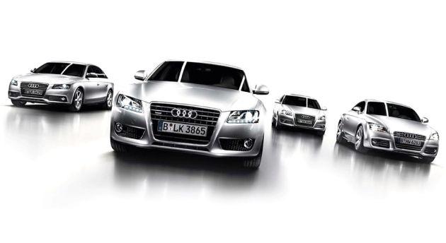 gamma_audi Audi: leader del mercato premium italiano nel 2010