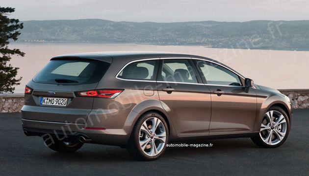 nuova_ford_mondeo_wagon Ford Mondeo: primi render della quarta generazione