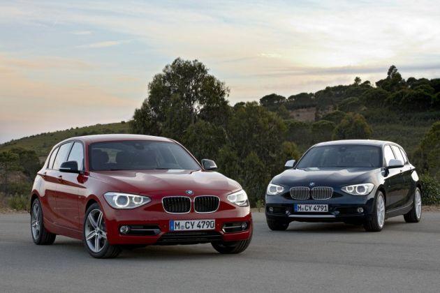 nuova_bmw_serie_1_02 Le nuove gamme 2012 Audi A1 e BMW Serie 1