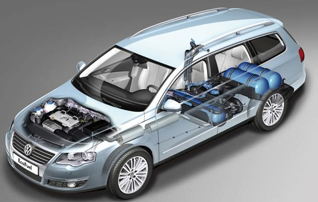 volkswagen-passat-metano Auto a metano 2012
