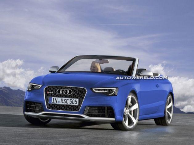 audi_rs5_cabriolet_render Audi: le novità del Salone di Ginevra con il badge RS