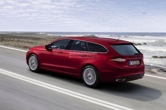 ford_mondeo_wagon_render Ford Mondeo Wagon: render della nuova generazione