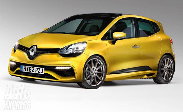 renault-clio-rs-2012 Renault: i render della nuova Clio RS e dell'inedita Mégane SUV
