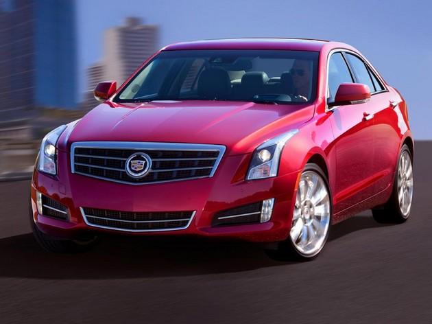 Cadillac-ATS-2013-parigi-2012 La Cadillac Ats 2013 sbarca in Europa