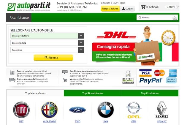 autoparti-it-ricambi-auto Breve guida all'acquisto online di pezzi di ricambio per auto alcuni siti (prima parte)