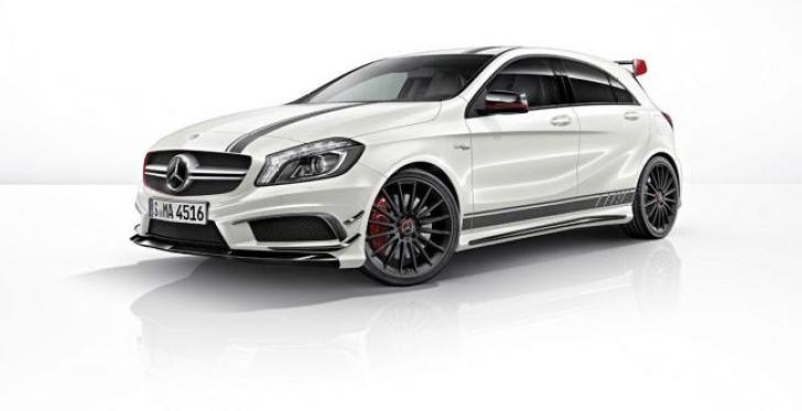 Mercedes-A45-AMG-Edition-1 Mercedes 45 AMG Edition 1, la compatta più potente di sempre