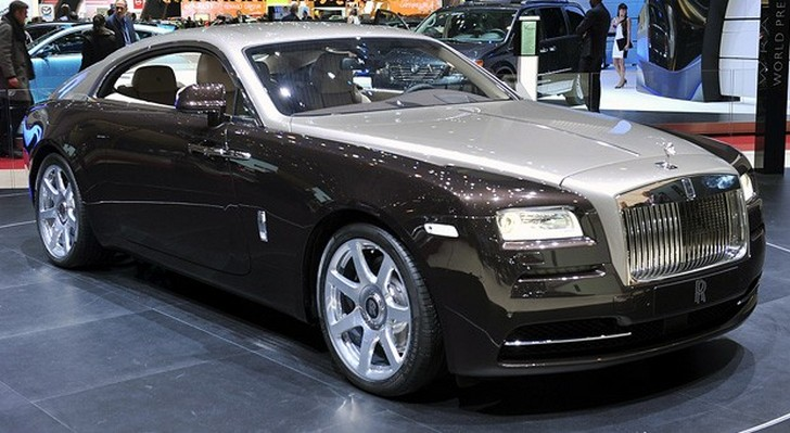 rolls-royce-wraith Rolls-Royce Wraith: il debutto della Satellite Aided Transmission
