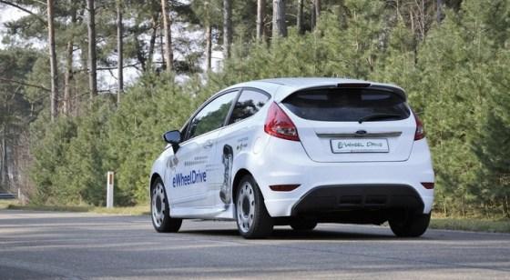 schaeffler-ford-fiesta-electric Ford Fiesta E-Wheel Drive: i motori si trovano dentro le ruote