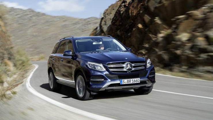 GLE_21 Suv Crossover Mercedes 2016: nuova gamma GLA, GLC, GLE