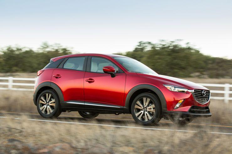 2016-Mazda-CX-3 SUV Economici: Nuovi Modelli sotto i 20.000 Euro