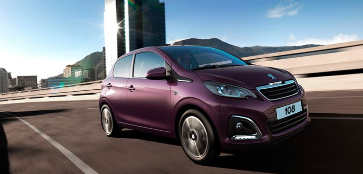 Peugeot_108_5-door_elegant_2017 Auto economiche a meno di 10.500 euro