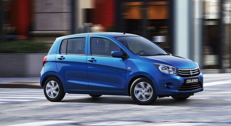 Suzuki-Celerio-2017 Auto economiche a meno di 10.500 euro