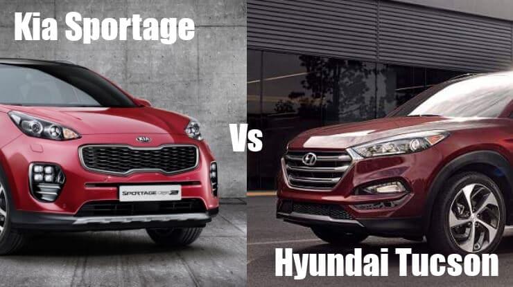 hyundai-tucson-vs-kia-sportage Confronto Hyundai Tucson e Kia Sportage