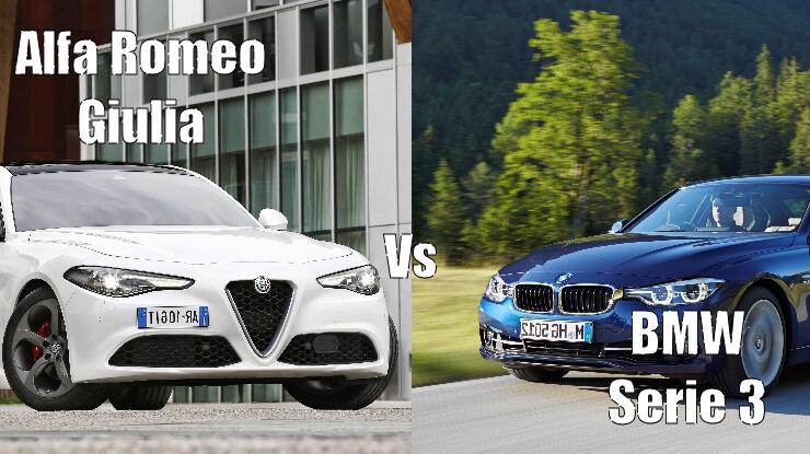giulia-vs-serie3-1 Confronto Alfa Romeo Giulia Vs BMW Serie 3