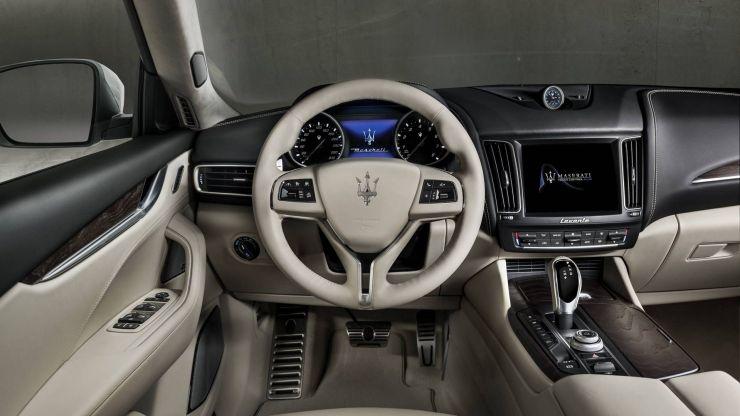 Maserati-Levante-GranLusso-interni-2 Levante, ll SUV Maserati