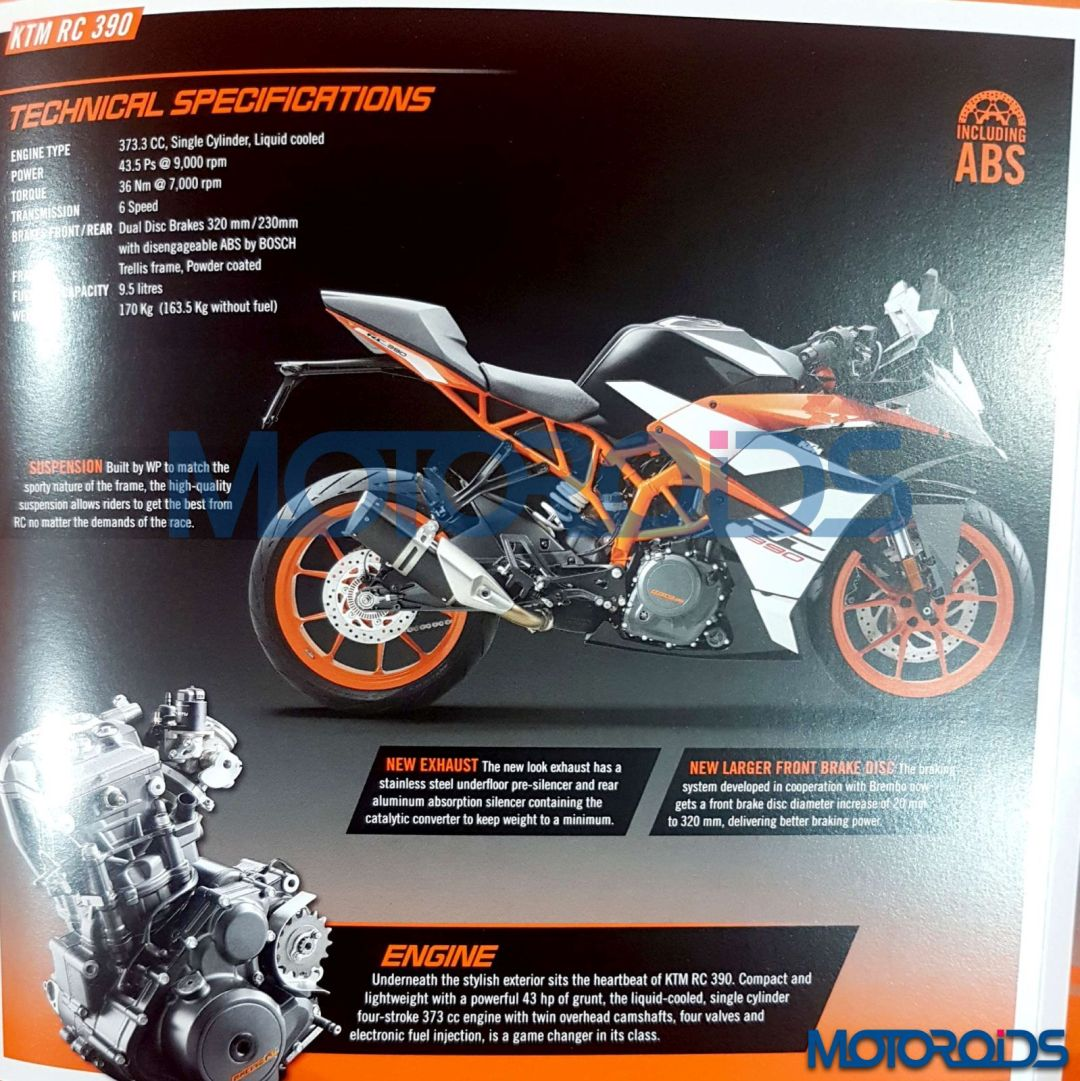 KTM-RC 390-leaked-specification