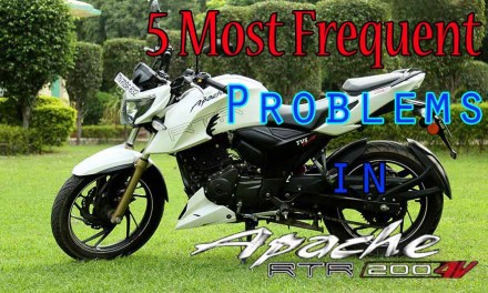 5 Most Frequent Problems of Apache RTR 200