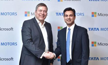 Tata Motors Partners with Microsoft to develop Hi-Tech Cars