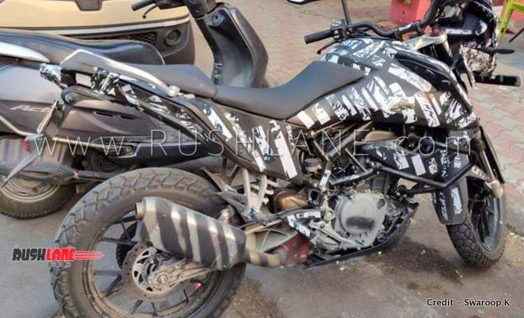 KTM 390 Adventure spied in India