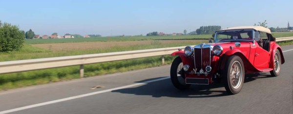 La MG TC d'Anne et Pascal M