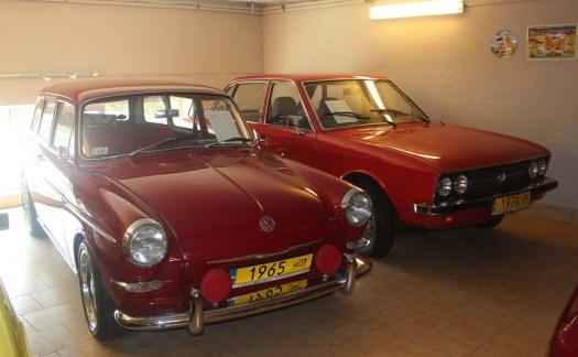 Une 1500 de 1965 et une 1600 juste derrière
