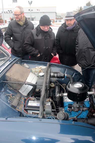 Le V6 coupé de la SAAB...
