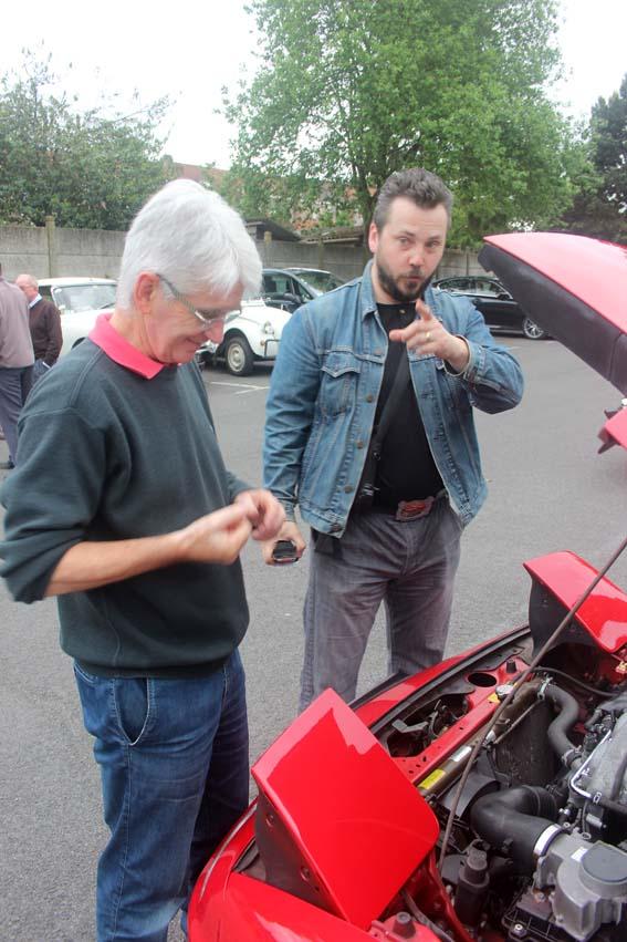 Stéphane M chercherait-il un nouveau moteur pour son Hot Rod ?
