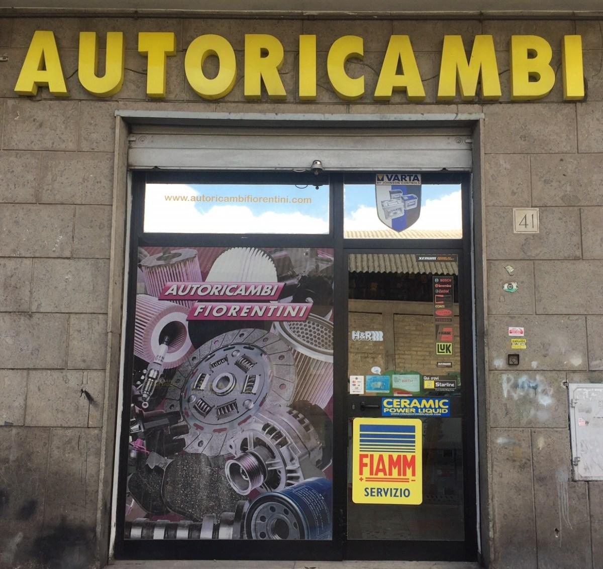 autoricambi roma