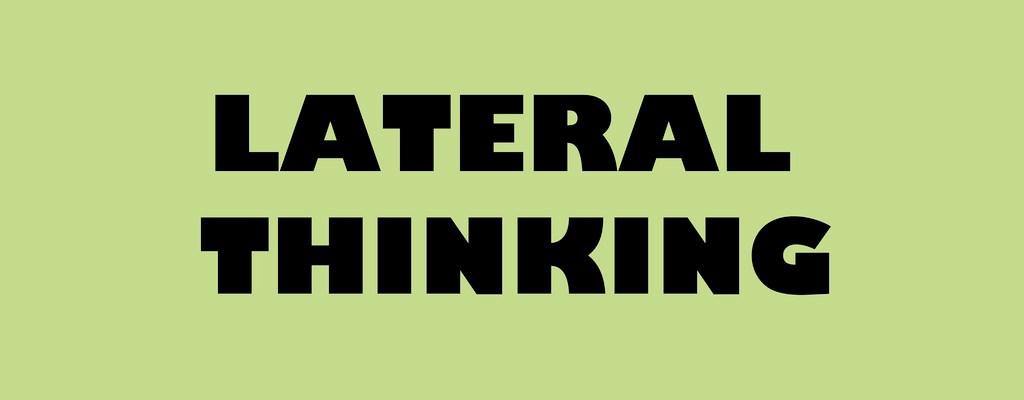 Pensamiento lateral: Cómo resolver problemas de forma más eficiente y creativa