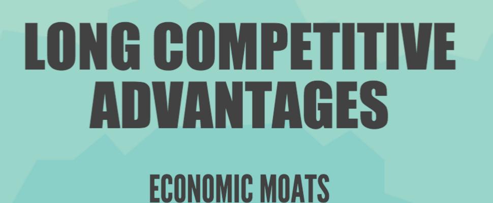 Infographic: Long Competitive Advantages (Economic Moats)