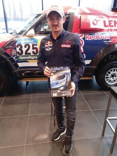 Kierowca rajdowy Adam Małysz