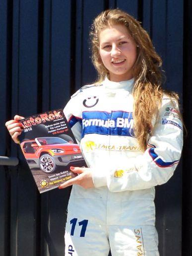 Małgorzata Rdest – mistrzyni Polski w kartingu w prestiżowej kategorii KF2, Kadra Narodowa, BMW Talent Cup