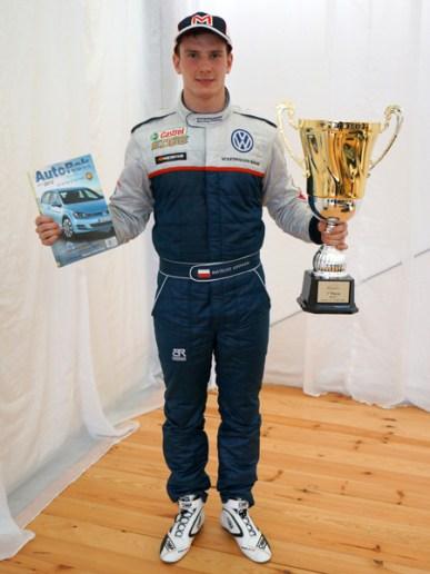 Mateusz Lisowski - Kartingowy Mistrz Polski, zwycięzca Skoda Octavia Cup, zwycięzca VW Scirocco R Cup, zwycięzca I eliminacji Volkswagen Castrol Cup