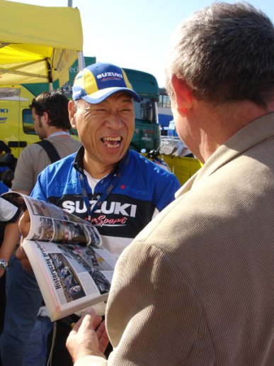 Nobuhiro Tajima - szef działu Suzuki Sport i teamu Suzuki WRC