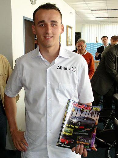 Robert Kubica, kierowca wyścigowy