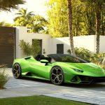 Lamborghini Huracan EVO Spyder – Test pod palmami